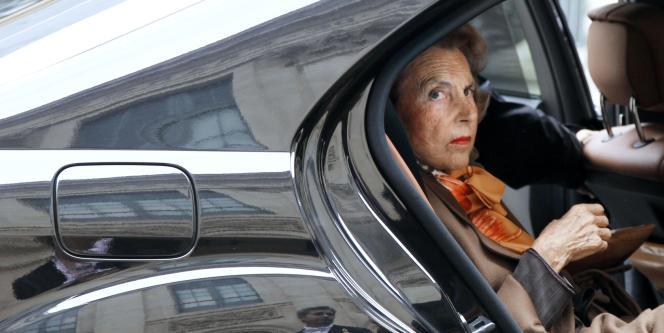Liliane Bettencourt en octobre 2011.