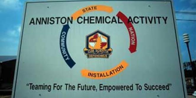 L'usine de Monsanto à Anniston (Alabama).