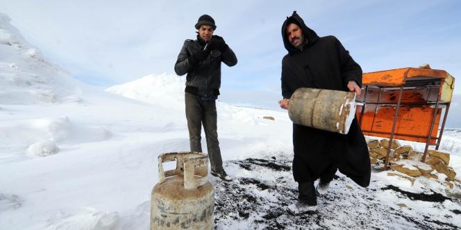 Les difficultés d'alimentation en gaz sont une des conséquences les plus grave des fortes chutes de neige qui touchent l'Algérie.