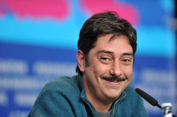 Le réalisateur portugais Miguel Gomes lors de la présentation de son film