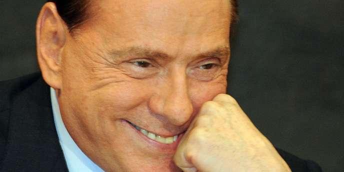 Silvio Berlusconi, le 1er février 2012.