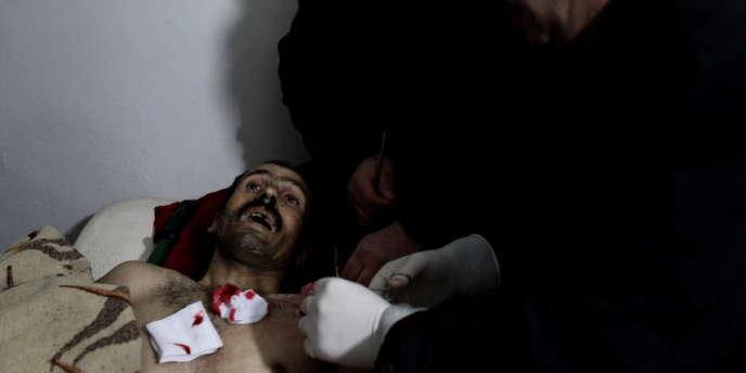 A Homs, les victimes de snipers loyalistes et de
