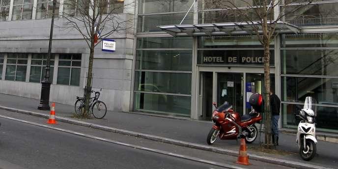 Le siège de l'Inspection générale des services, rue Hénard dans le 12e arrondissement de Paris.