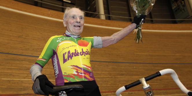 Robert Marchant nouveau recordman du monde.