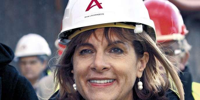 Anne Lauvergeon, ex-présidente du directoire d'Areva