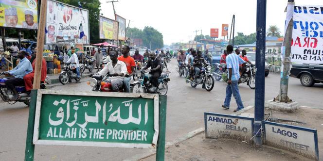 Vue de la ville Maiduguri, dans le nord du Nigeria.