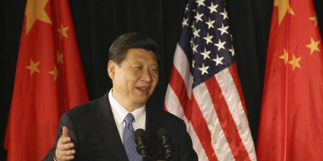 Le vice-président chinois Xi Jinping, ici, lors de sa visite aux Etats-Unis en février, est le futur successeur du président Hu Jintao.