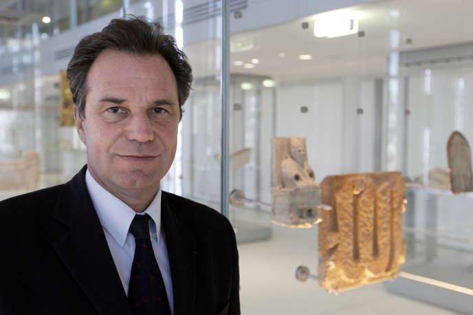 Renaud Muselier, lors de l'inauguration du musée de l'IMA à Paris, le 20 février 2012.