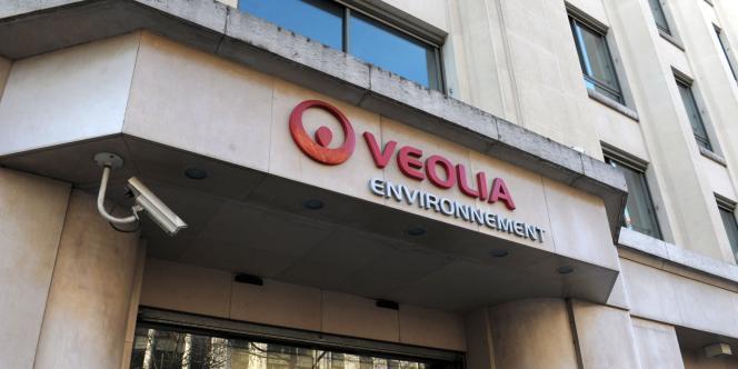Le siège du groupe Veolia Environnement, à Paris.
