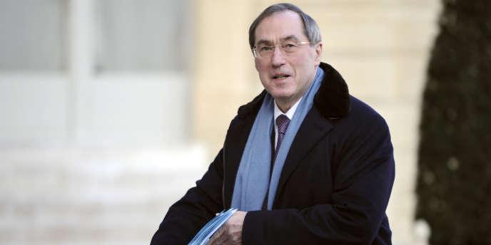 Claude Guéant, bras-droit de Nicolas Sarkozy de 2002 à 2012, à l'Elysée, le 10 février 2012.