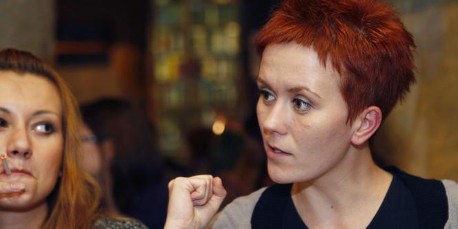 Anna Hutsol, à Kiev, le 12 novembre 2010.