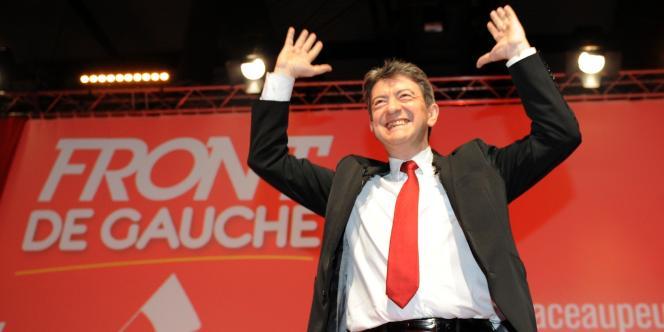 Jean-Luc Mélenchon, le 8 février 2012.