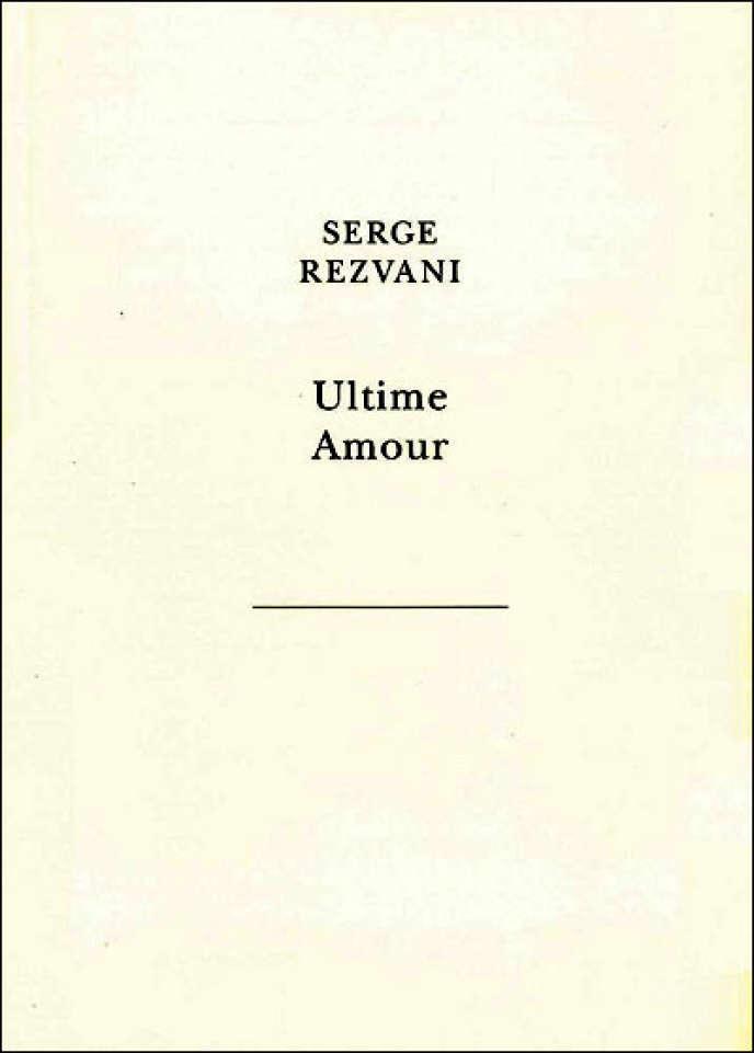 Couverture de l'ouvrage de Serge Rezvani,