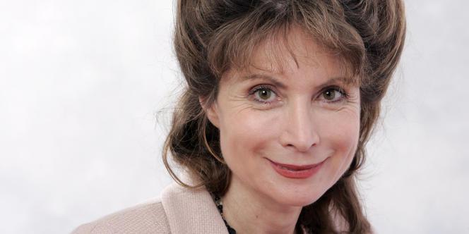 La directrice de l'Ecole normale supérieure, Monique Canto-Sperber, en octobre 2006, à Deauville.