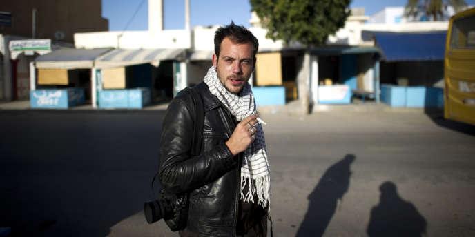 Rémi Ochlik en Tunisie.