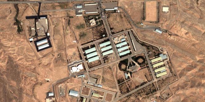 Photo satellite du site de Parchin, en Iran. Les inspecteurs de l'AIEA demandent à s'y rendre au plus vite.