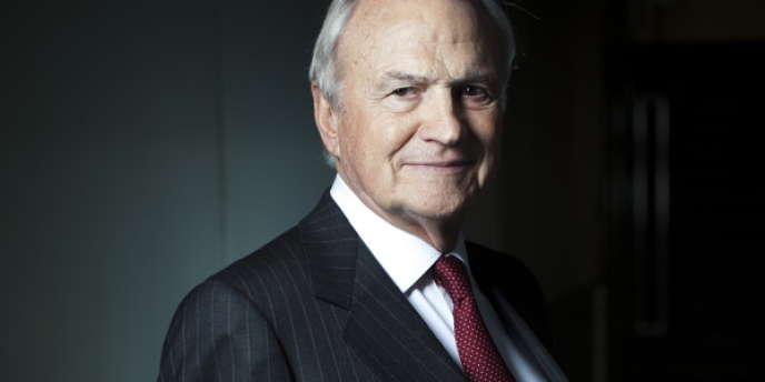Claude Bébéar, cofondateur et président d'honneur du groupe Axa, et président de l'Institut Montaigne.