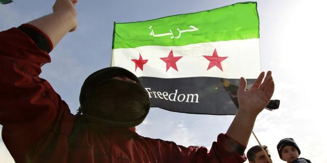 Manifestation contre le régime de Bachar Al-Assad, le 23 février 2012, à Amman, en Jordanie.