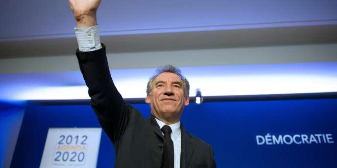 François Bayrou, lors du forum pour un