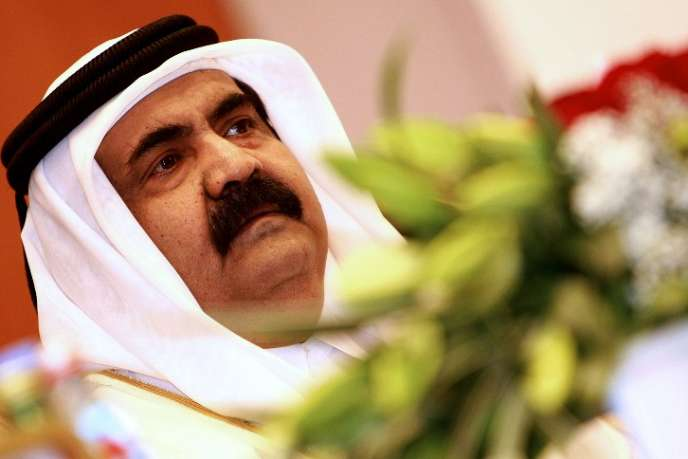 L'émir du Qatar, Hamad Ben Khalifa Al-Thani, à Doha.