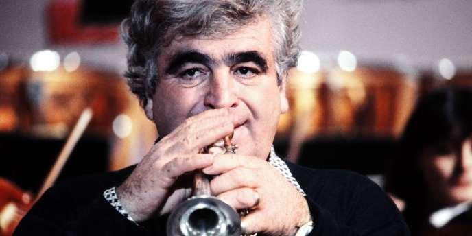 Le trompettiste Maurice André en 1980.
