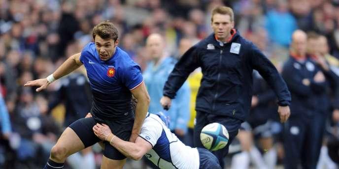 La France a battu l'Ecosse 23-17 dimanche sur la pelouse de Murrayfield.