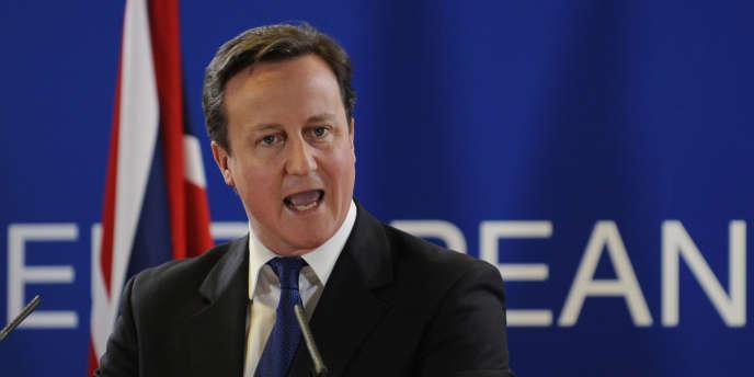 La Grande-Bretagne n'a pas de leçons à recevoir en matière des droits de l'homme, a rappelé David Cameron devant les juges, le 25 janvier 2012 à Strasbourg.
