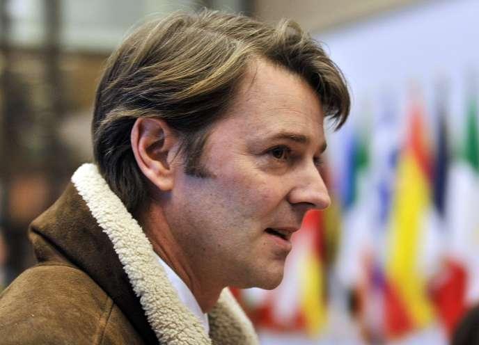 François Baroin, le 20 février 2012, à Bruxelles.