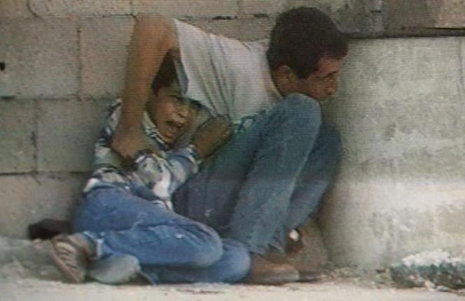 Image tournée par le caméraman de France 2 Talal Abou Rahmeh.