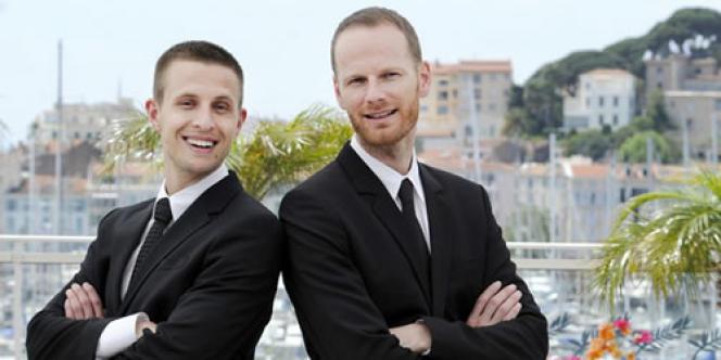 L'acteur norvégien Anders Danielsen Lie (à gauche) et le réalisateur norvégien Joachim Trier au Festival de Cannes, le 18 mai 2011.