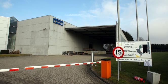 Vue de la société allemande Meister à Sprimont, le 27 février 2012.