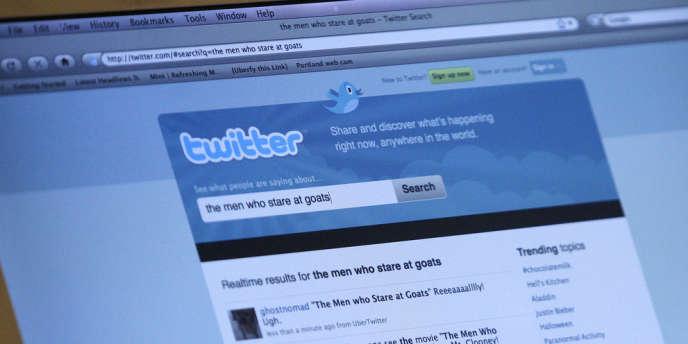 Le site de micromessagerie Twitter.