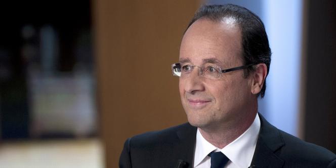 François Hollande (Parti socialiste) a déposé
