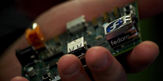 Un exemplaire du Raspberry Pi.