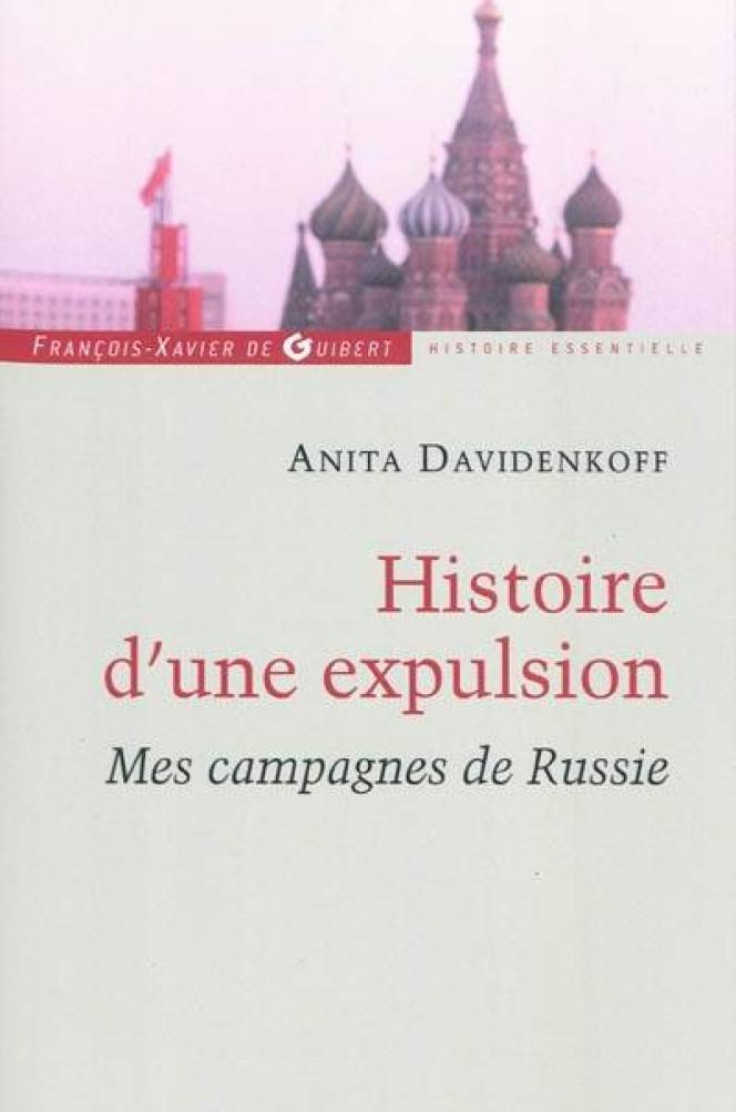 Couverture de l'ouvrage d'Anita Davidenkoff,