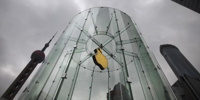 Un Apple Store à Shangaï