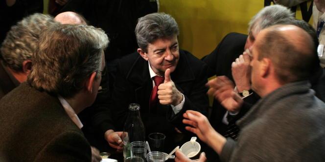 Jean-Luc Mélenchon, le 29 février au Salon de l'agriculture.