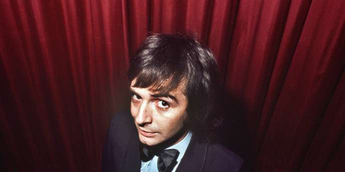 Gérard Rinaldi, le 13 décembre 1971 à Paris.