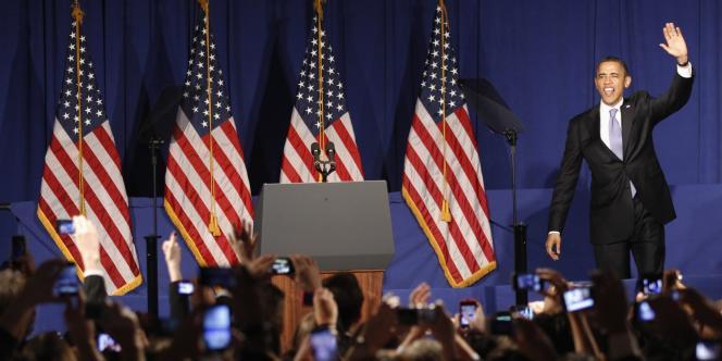 M. Obama, qui participait à New York à une réunion de levée de fonds pour sa campagne en vue de la présidentielle du 6 novembre, a mentionné face à ses soutiens les changements géopolitiques induits par les révoltes populaires dans le monde arabo-musulman depuis début 2011.