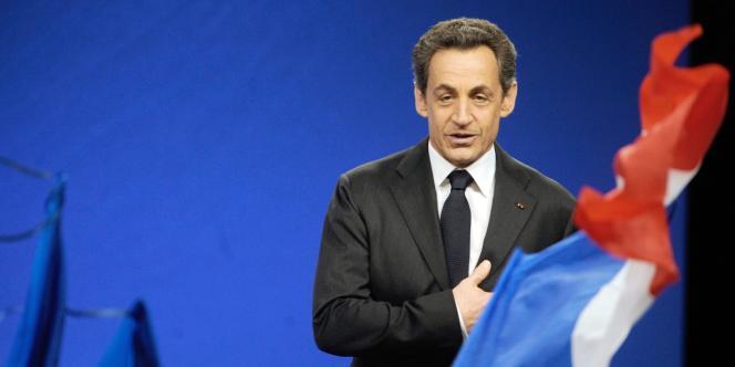 Meeting de Nicolas Sarkozy à Bordeaux, samedi 3 mars.