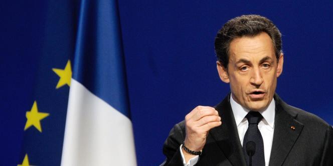 Nicolas Sarkozy, le 3 mars à Bordeaux.