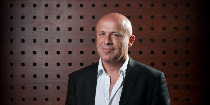 Olivier Poivre d'Arvor, directeur de France Culture, en mai 2011 à Cannes.