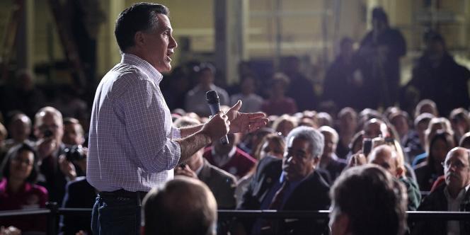 Mitt Romney en campagne à Dayton, dans l'Ohio, le 3 mars 2012.