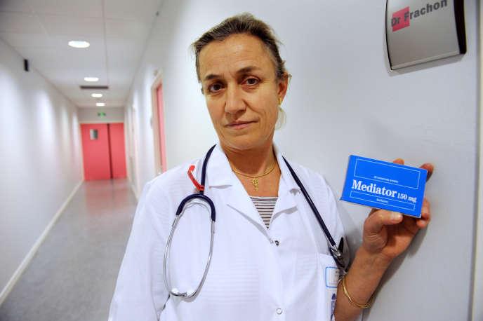 Irène Frachon, pneumologue au CHU de Brest et auteure du livre