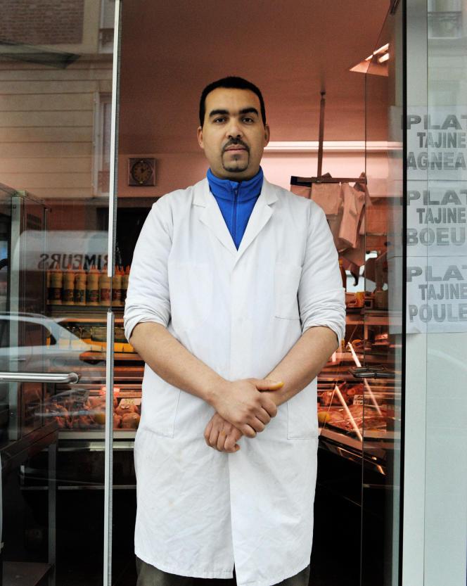 Lahcen Hakki a repris la boucherie le 25 septembre 2011.