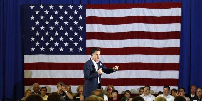 Mitt Romney lors d'un meeting de campagne à Snellville, le 4 mars 2012.