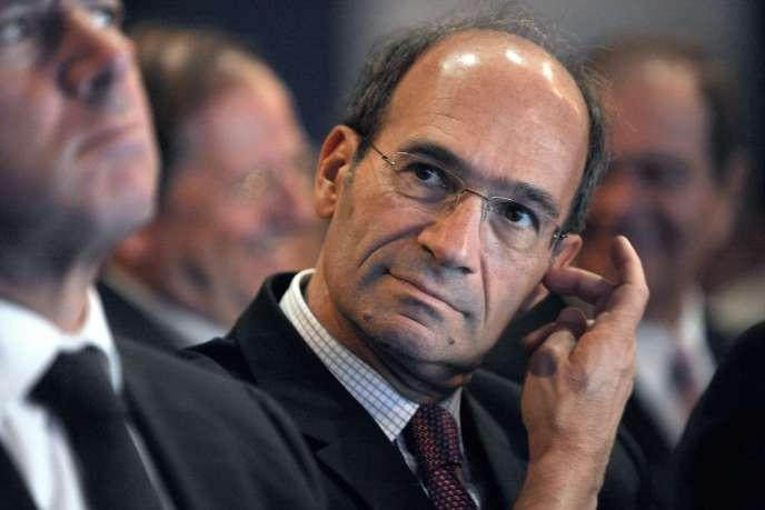 Eric Woerth, l'ancien ministre du budget (2007-2010) de Nicolas Sarkozy.