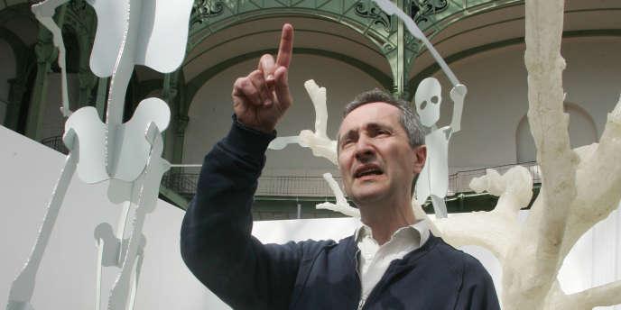 Bernard Blistène au Grand Palais à Paris, le 24 avril 2006.