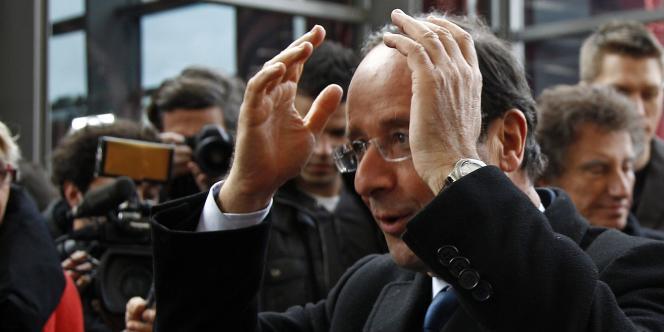 François Hollande, le 5 mars à Nancy.