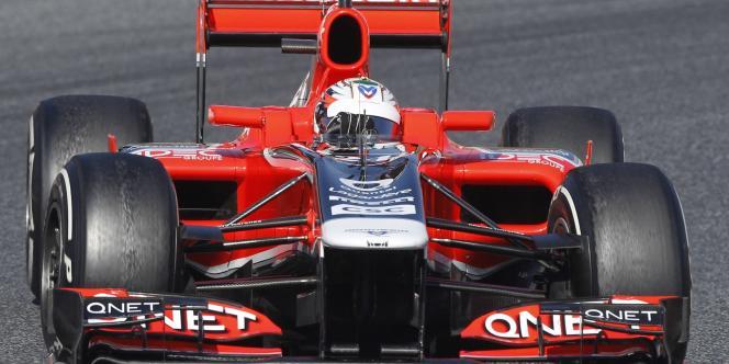 L'écurie Marussia a désigné la pilote espagnole Maria de Villota comme troisième pilote.